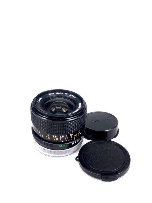 Canon New FD 24mm f2 8 SSC