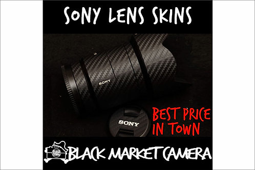 Lenses Skins for Sony E-mount