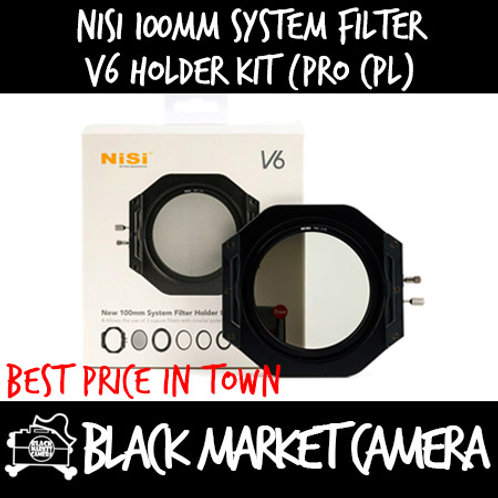 Nisi 100mm System Filter V6 Holder Kit (Pro CPL)