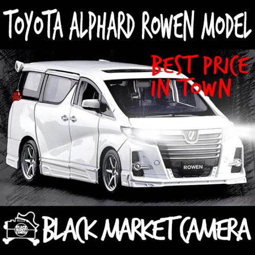 JackieKim 1:32 Toyota Alphard Rowen Diecast Car Model