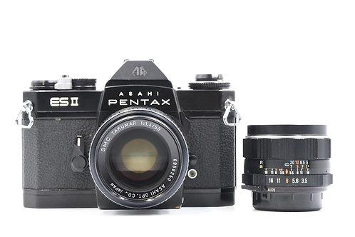 Pentax Asahi ES II M42 Film SLR Black (Used)