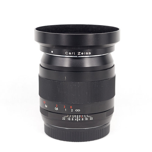 Zeiss 28mm f/2.0 ZE Distagon T* Lens for Canon EF (SN: ****4742)