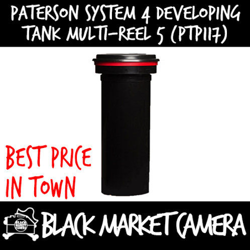 Paterson System 4 Developing Tank - Multi Reel 5 (PTP117)
