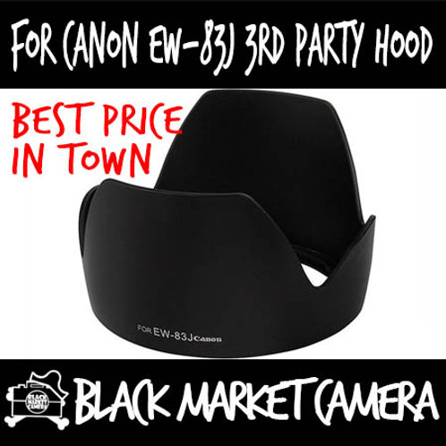 For Canon EW-83J 3rd Party Lens Hood