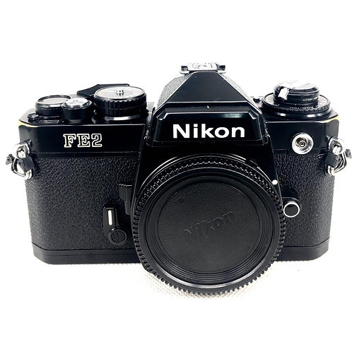 Nikon FE2 Film SLR (Black) (used)