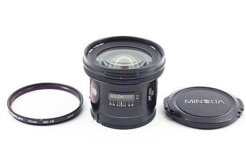 Minolta MA AF 20mm F2.8 (used)