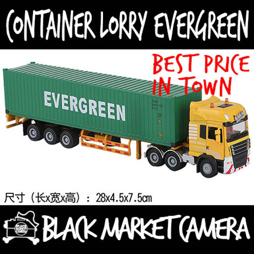 JB 1:50 Container Lorry Evergreen Diecast Model