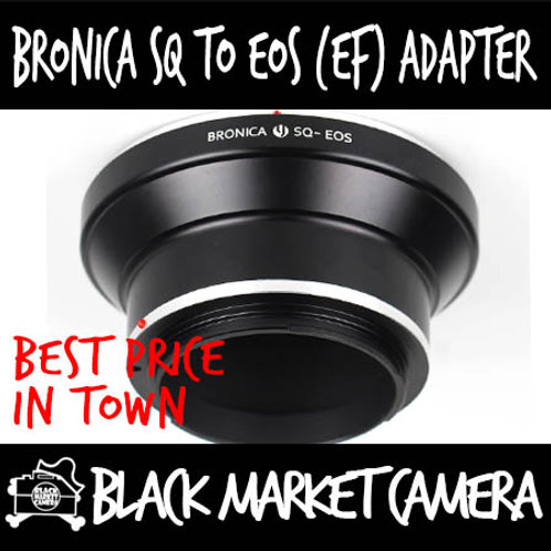 Bronica SQ to Canon EOS Lens Adapter