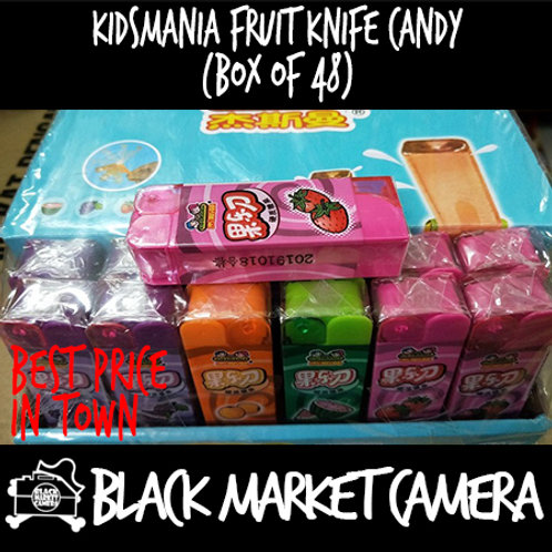 Kidsmania Fruit Knife Candy (Bulk Quantity, 48pcs/Box)