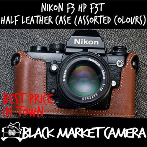 Funper Nikon F3 HP F3T Half Leather Case