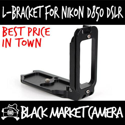 L-Bracket Quick Release Plate for Nikon D850