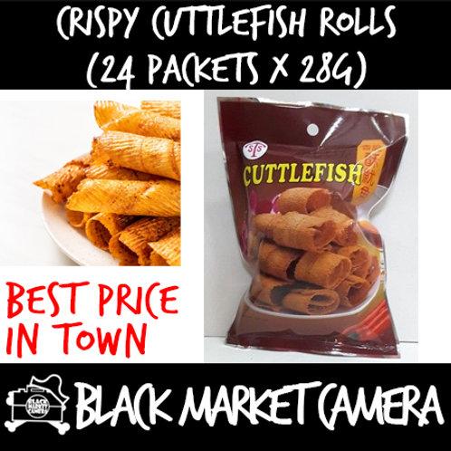 Crispy Cuttlefish Rolls (Bulk Quantity, 24 Packets x 28g)