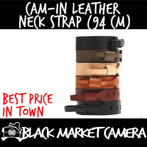 Cam-in Leather Neck Strap (94 cm)