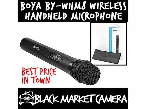 BOYA BY-WHM8 48-Channel UHF Dynamic Interview Wireless Handheld Microphone