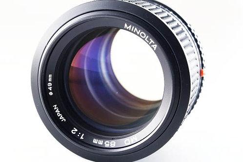 Minolta New MD 85mm F2 (used)