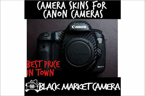 Camera Skins for Canon EOS R/ 5D Mark III/ 5D Mark IV