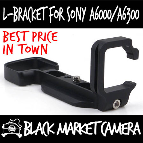 Sony A6000/A6300 L-Bracket Quick Release Plate