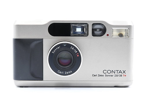 Contax T2D (Databack) Champagne AF Film Compact (used)