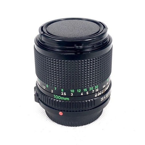 Canon New FD 100mm F2.8 (used)
