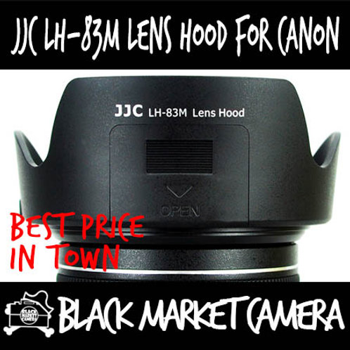 JJC LH-83M Hood for Canon 24-105F3.5-5.6 IS STM (EW-83M)