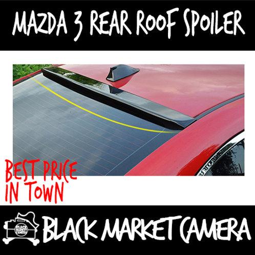 Mazda 3 Rear Roof Spoiler