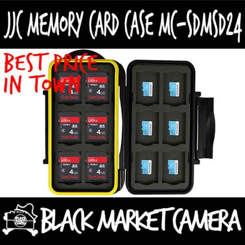 JJC MC-SDMSD24 Memory Card Case (12SD 12MSD)