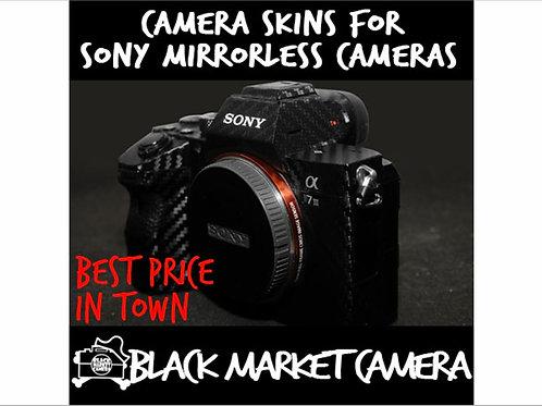 Camera Skins for Sony Mirrorless A7/A7R,A7M2/R2/S2,A73,A6000,A6300,A6400,A6500