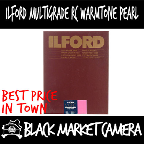 "Ilford MGRCWT44M Multigrade RC Warmtone Pearl (5"" x 7"") 100pcs"