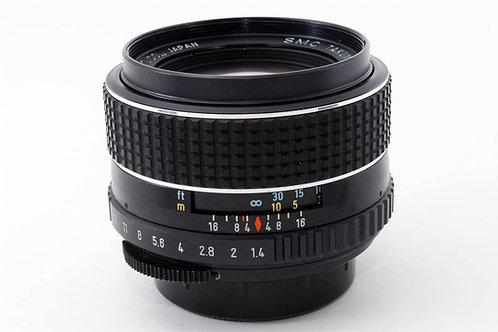 Pentax SMC Takumar 50mm F1.4 (Rubber Focus Ring) M42 1972 Version (used)