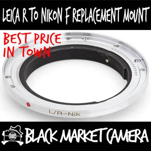 Leica R Lens to Nikon F Body Replacement Mount