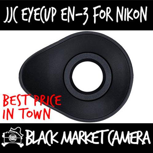 JJC EN-3 Eye Cup for Nikon DK-20/DK-21/DK-23/DK-24/DK-25