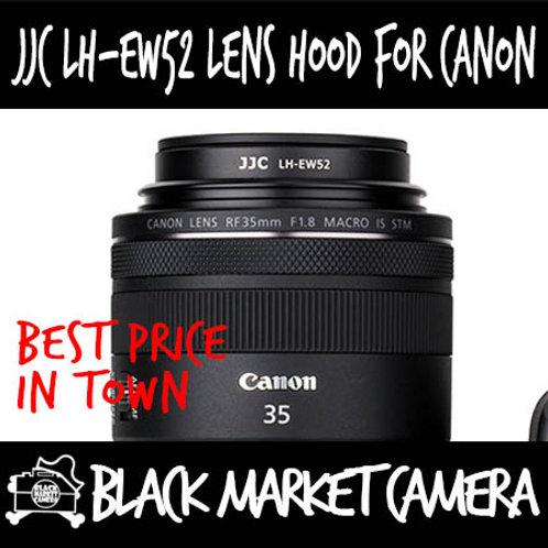 JJC LH-EW52 Hood for Canon RF 35mm F1.8 Macro IS STM (EW-52)