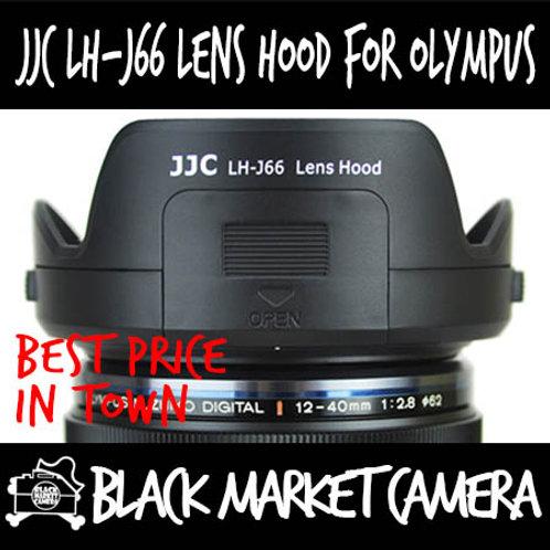 JJC LH-J66 Lens Hood for Olympus M.Zuiko 12-40mm F2.8 Pro