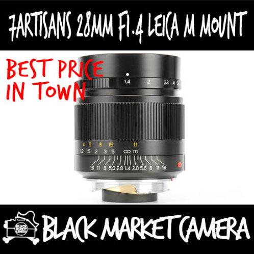 7Artisans 28mm F1.4 Leica M Mount