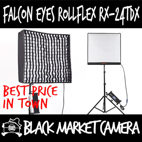 Falcon Eyes RX-24TDX Bi-Colour Roll-Flex LED Flexible Video Lighting