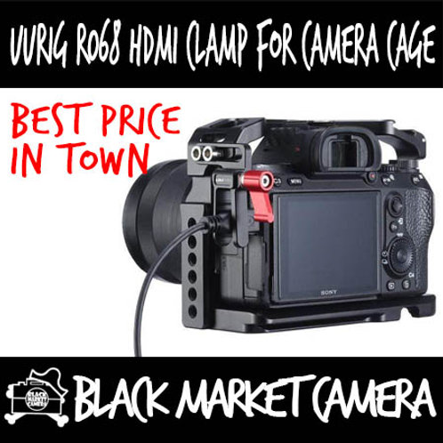 UURig R068 HDMI Clamp for Camera Cage