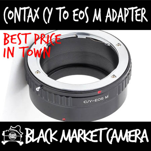 Contax CY Lens to Canon EOS M Camera