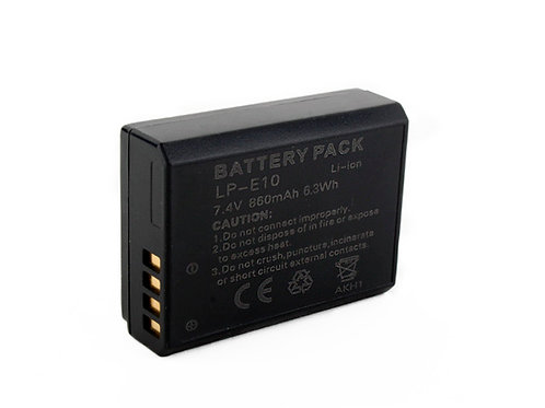 OEM LP-E10 Battery & Charger for Canon