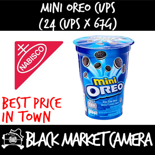 Mini Oreo Cups (Bulk Quantity, 24 Cups x 67g)
