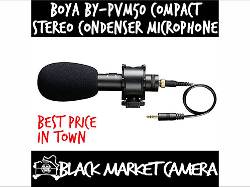 BOYA BY-VPM50 Compact Stereo Condenser Microphone