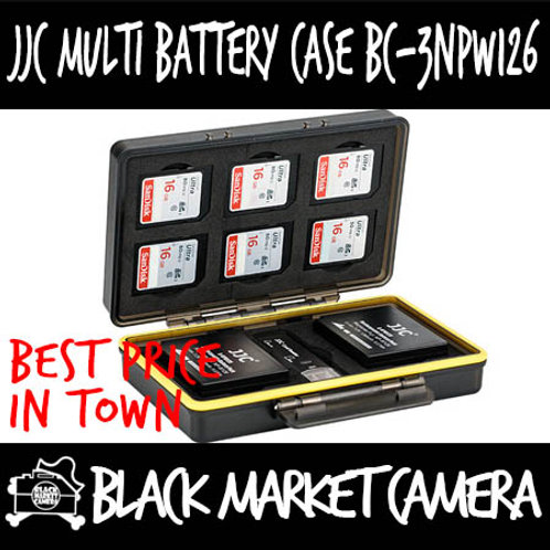 JJC BC-3NPW126 Multi-Function Battery Case (6x SD)