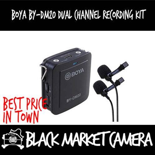 Boya BY-DM20 Dual Channel Recording Kit