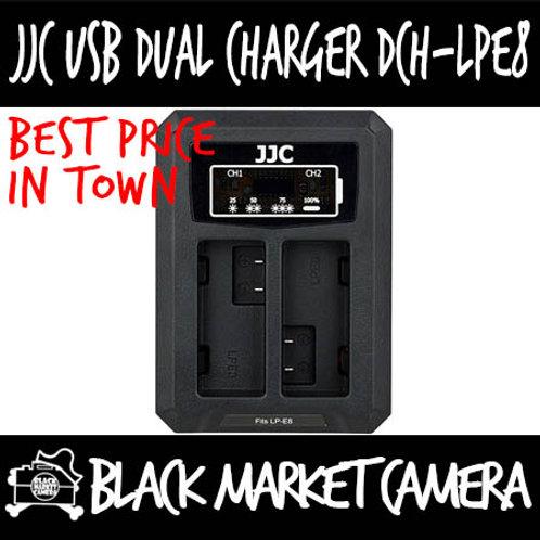JJC DCH-LPE8 USB Charger for Canon LP-E8