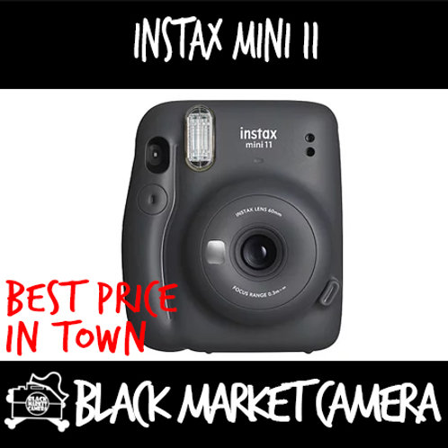 Fujifilm Instax Mini 11 (Charcoal Grey/ Ice White)