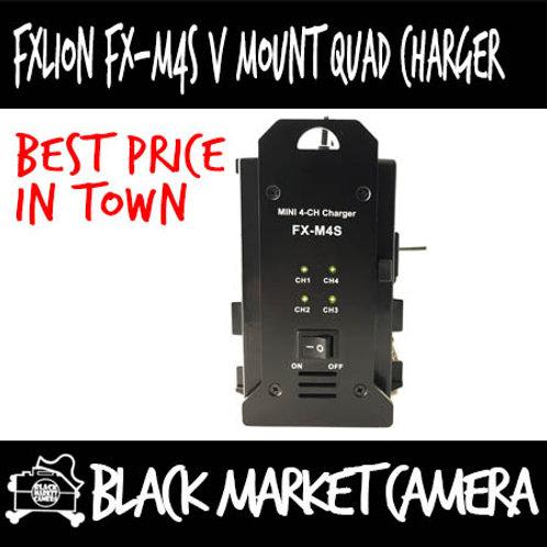 FXLION FX-M4S V Mount Quad Charger