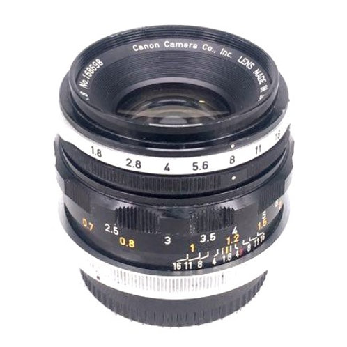 Canon FL 50mm F1.8 (used)