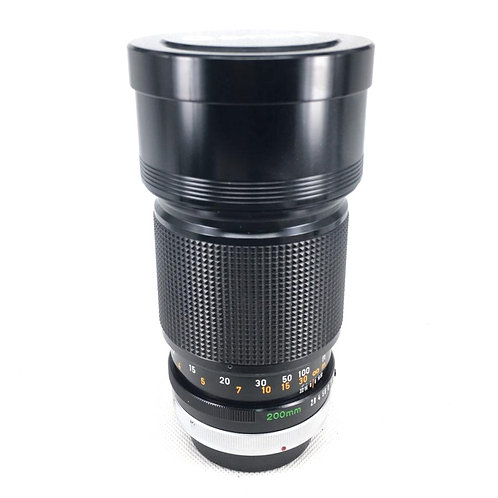 Canon FD 200mm F2.8 SSC (used)