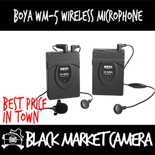 Boya BY-WM5 Wireless Microphone