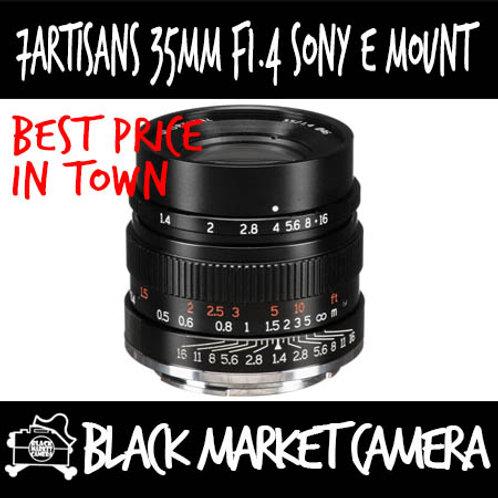 7Artisans 35mm F1.4 Sony E Mount