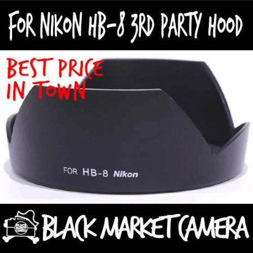 For Nikon HB-8 Third Party Lens Hood
